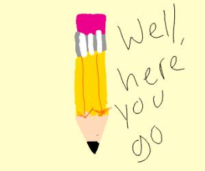 2D Pencil