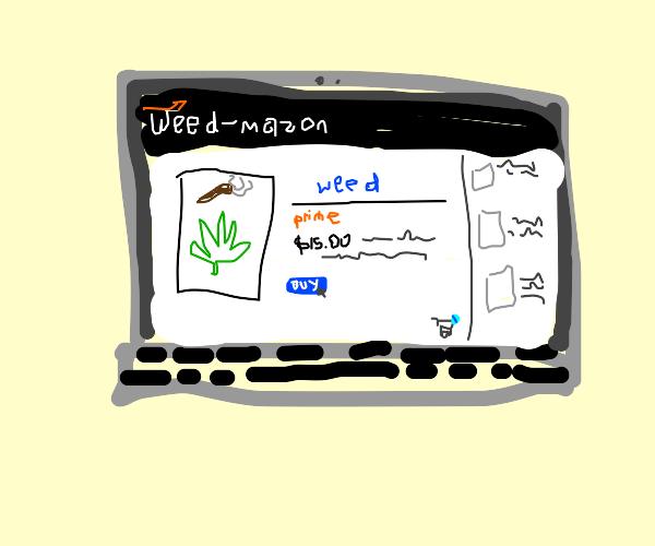 Buying W33d online