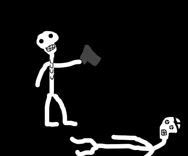 school skeleton murders another skeleton