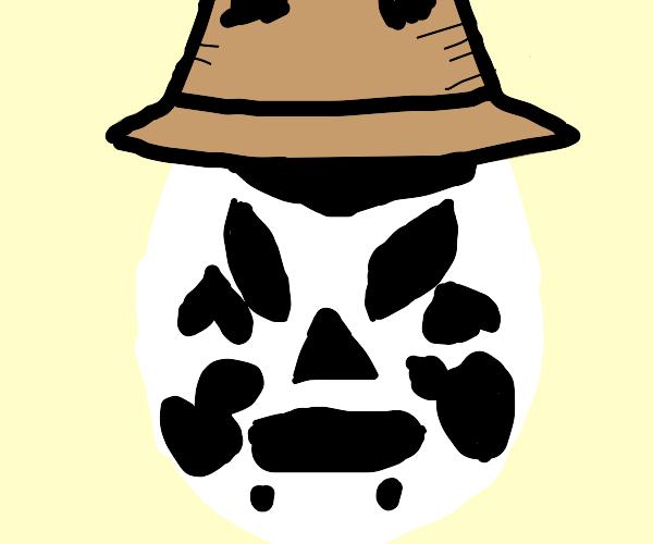 Rorschach's luchador mask