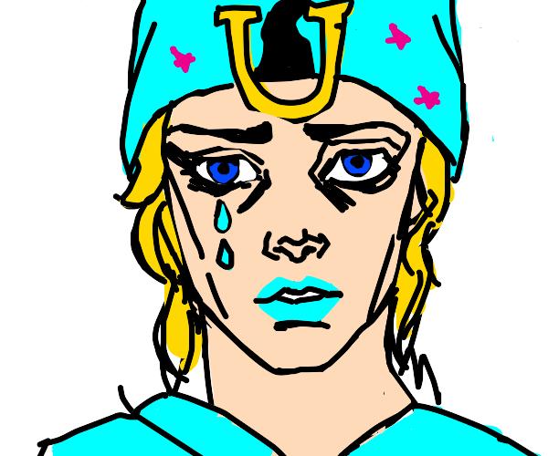 Johnny Joestar has big sad