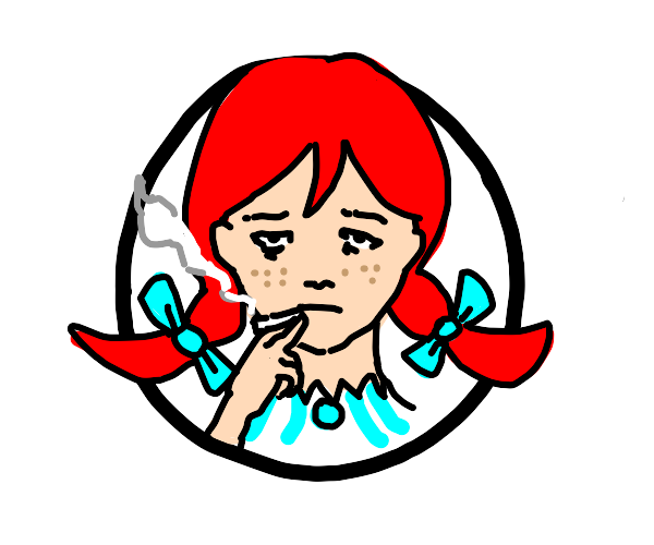 Wendy's but depressed