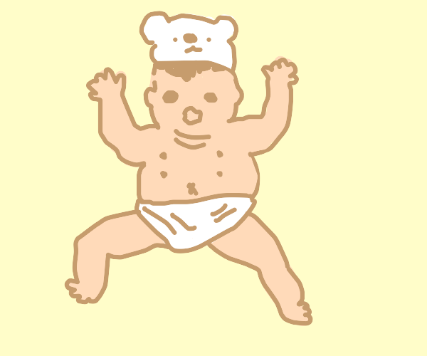 Baby with 4 nipples