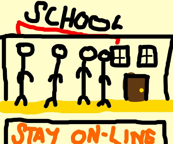 What online school should have been