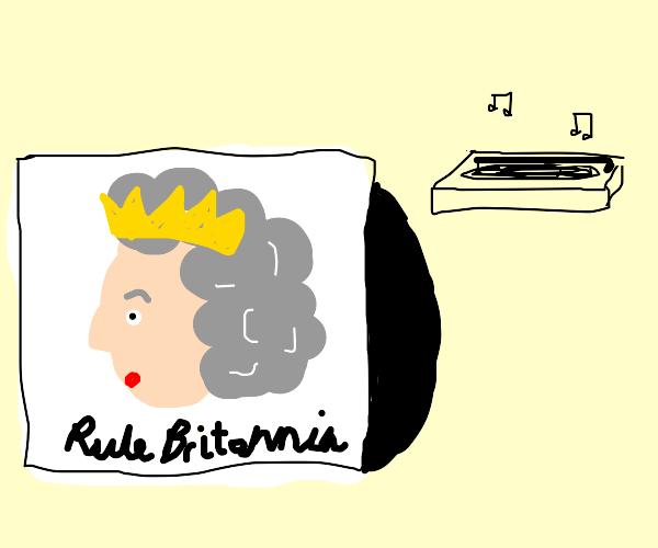 Queen album cover