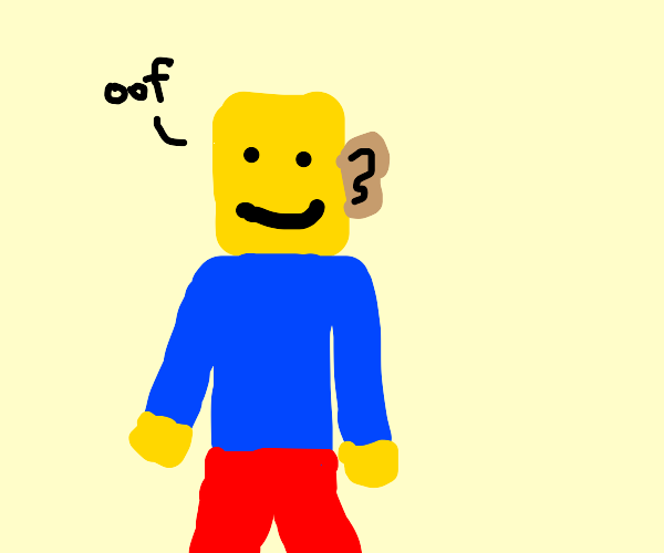Roblox guy with human ear