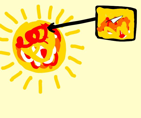 Knife on the Sun
