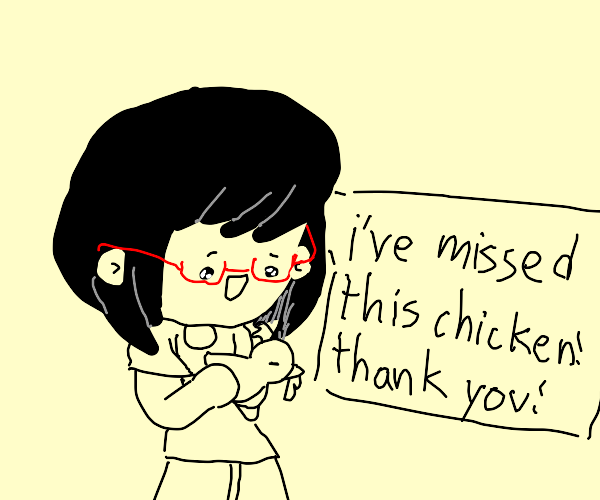 Girl's pet chicken was returned to her