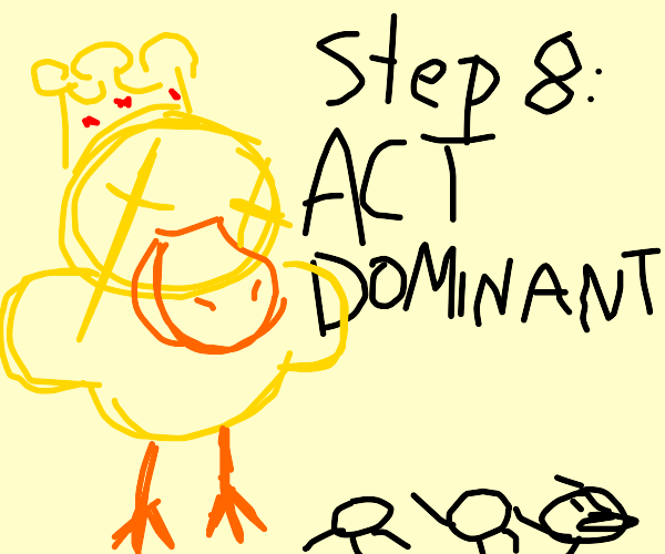 Step 7: Let people KNOW you're a freaking god