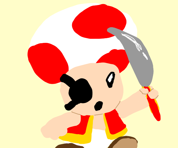 toad but a pirate