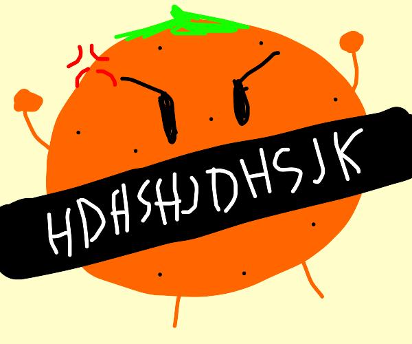 orange HDHSHJDHSJk