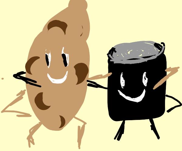 potatoes and molasses!