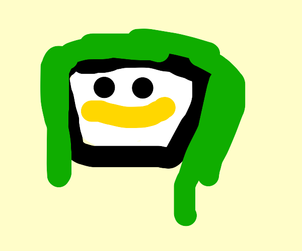 Joker with a wide, yellow grin