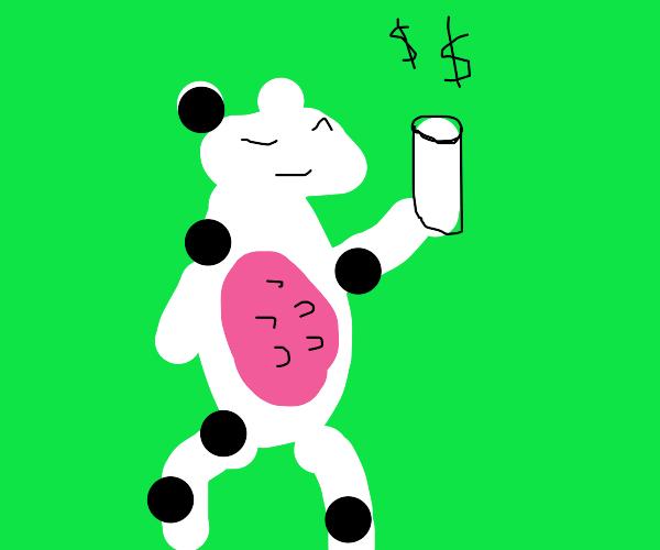 Honest Milk Sales-Cow