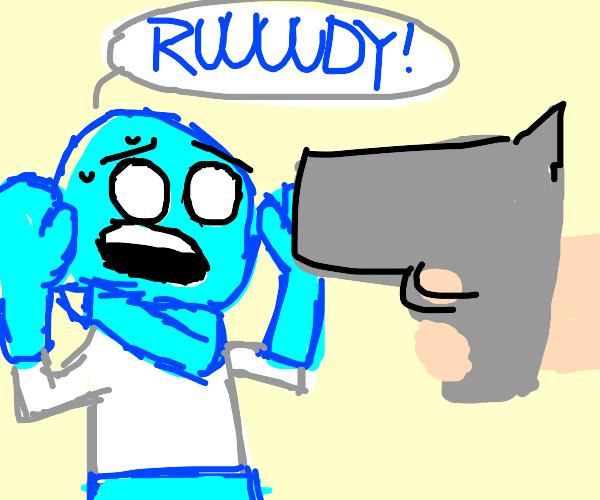 rudy you gotta draw something