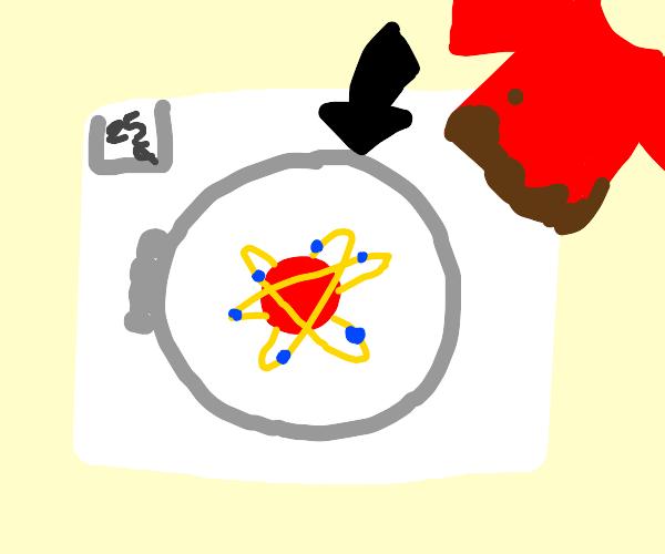 Atomic washing machine