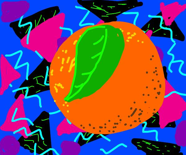 1980's Orange
