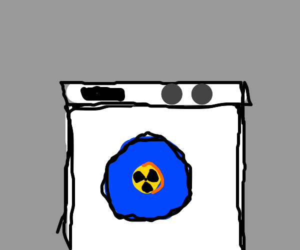 Only wash your clothes with radiation