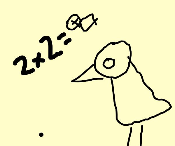 Birds do math. Badly.