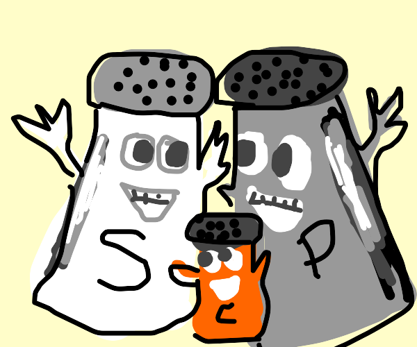 Salt and Pepper from Blue's Clues