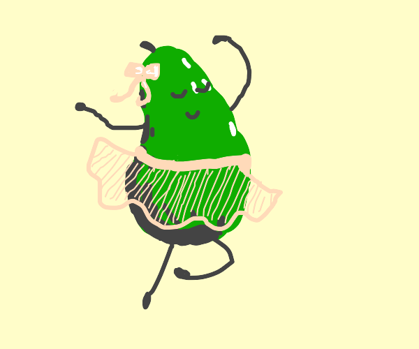 avocado dance lady