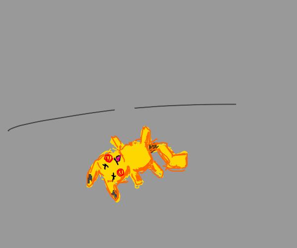 Dead pikachu