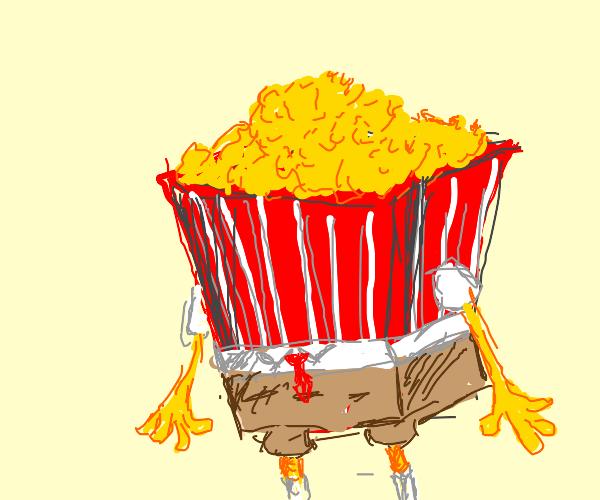 Popcorn squarepant