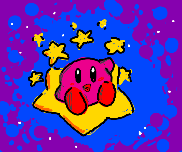 Kirby by some stars