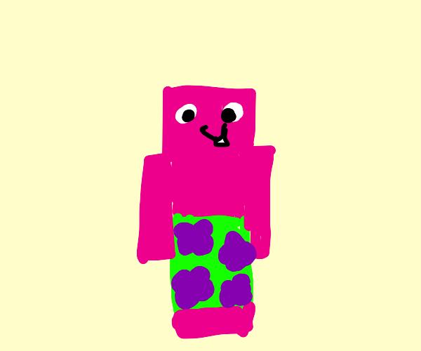 Patrick star minecraft skin