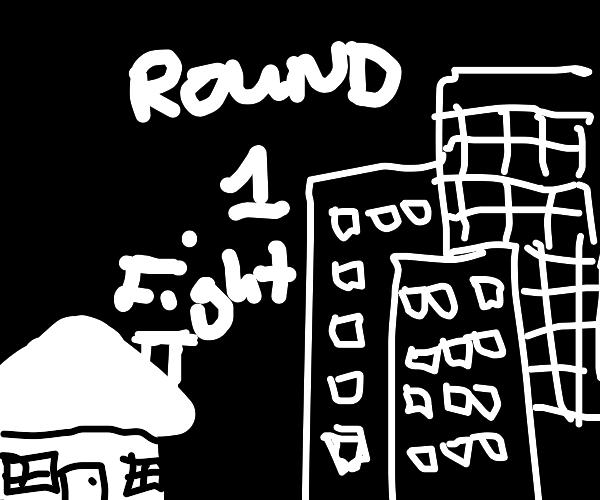 House V.S City (YOUR AMAZING ART)