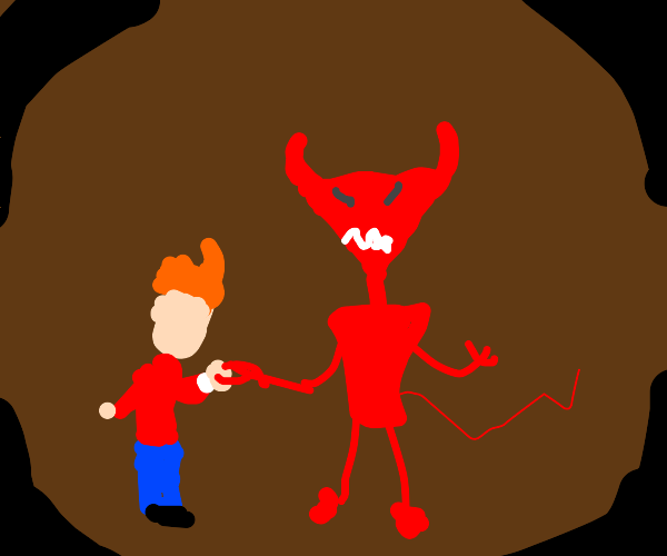 Pact with a Devil Robot