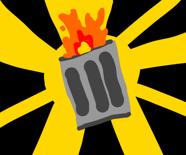 New!  Introducing:  Trashcan Fire!