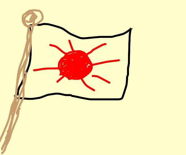 The flag of sun land