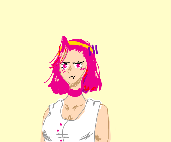 Reimi Sugimoto is mildly upset