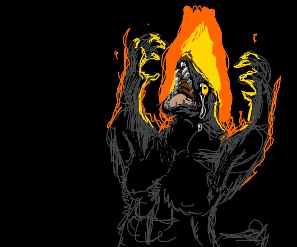 Werewolf in a Fire