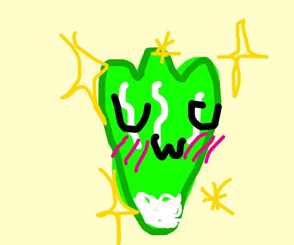 uwu owo kawaii lettuce owo