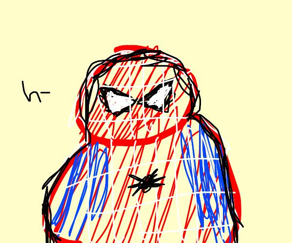 Fat spider man