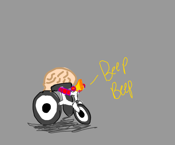 brain on a tricycle