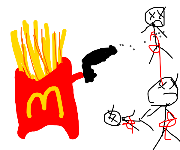 Fast food had enough, starts to kill people