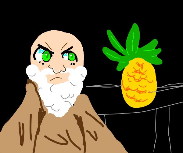God hates pineapples
