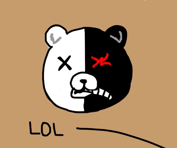 Monokuma is dead lol