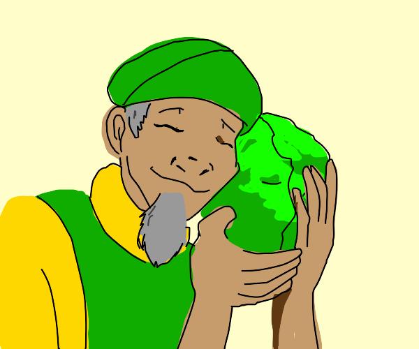 The cabbage man (atla)