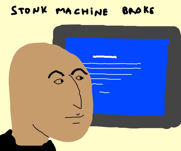 Not stonks :'(