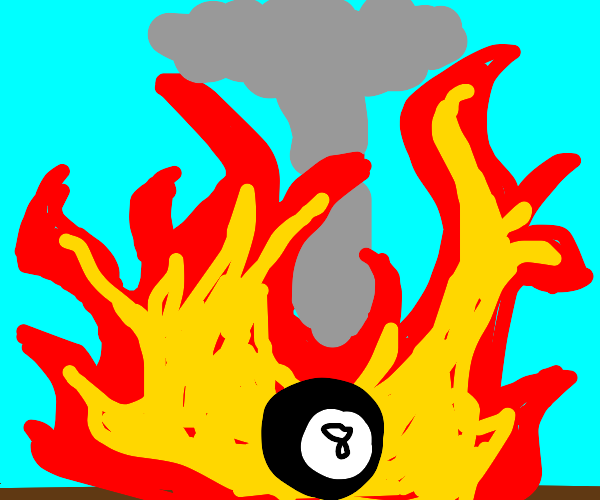 8 Ball starts a Nuclear War