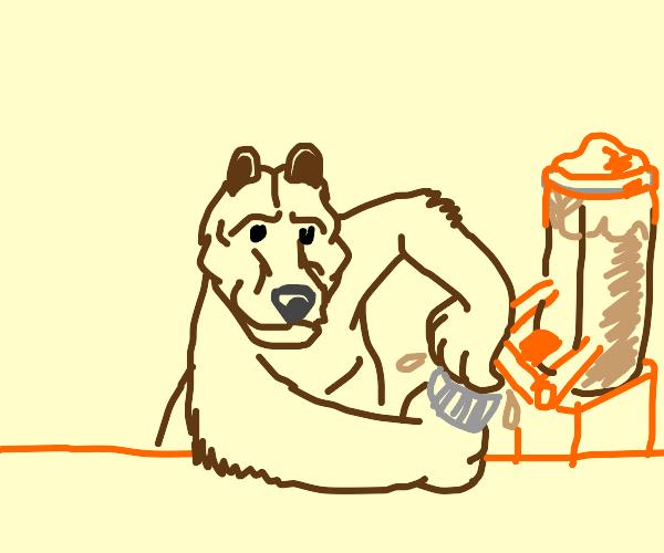 bear bartender