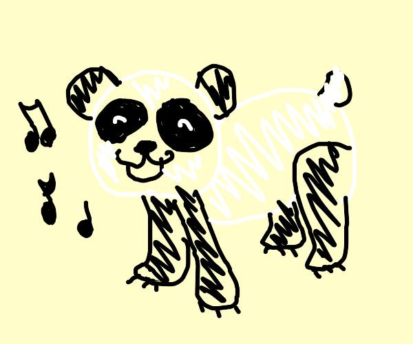 Panda Singing