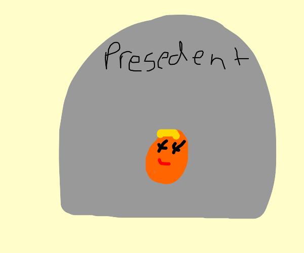 Donald Trump's Gravestone