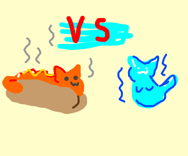 Hot Cat vs Cool Cat