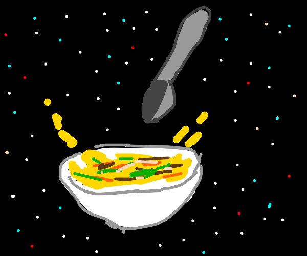 Soup in outer space