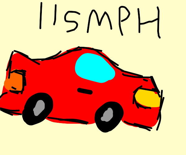 Car go fast
